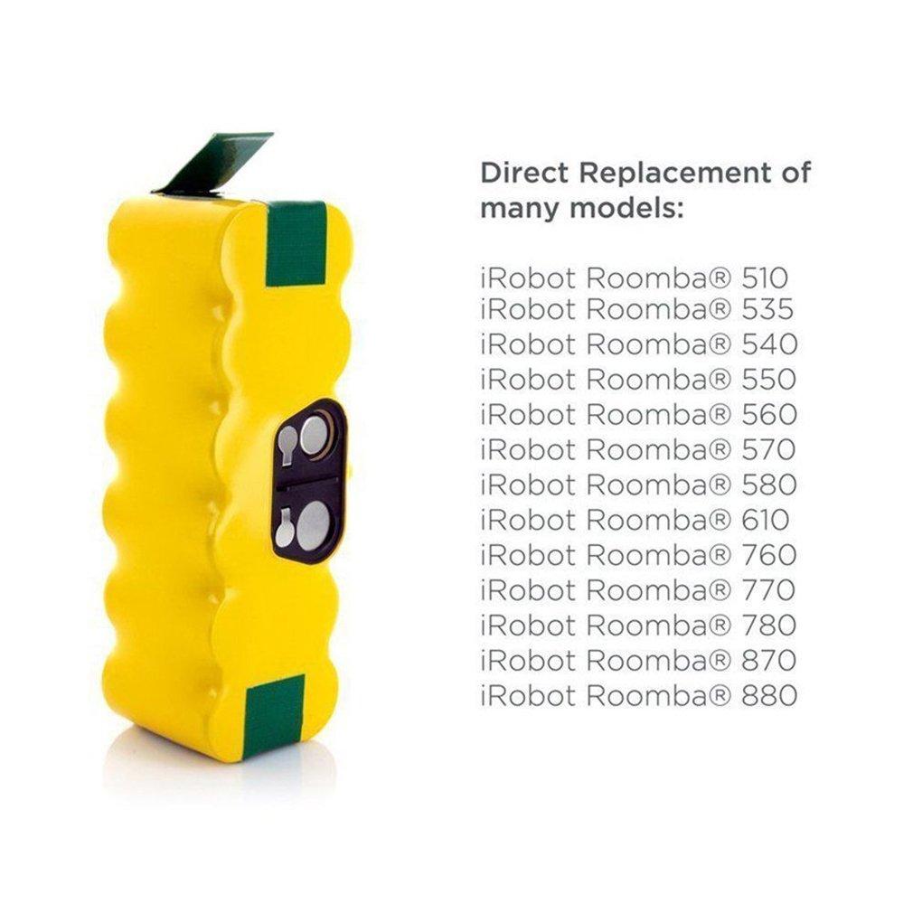 4500 MAh /® hannets Batterie pour iRobot roomba