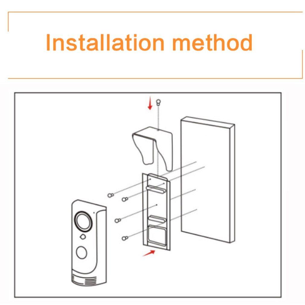Wireless Wifi Remote Video Camera Phone Doorbell Intercom Monitor Circuit Diagram Security El