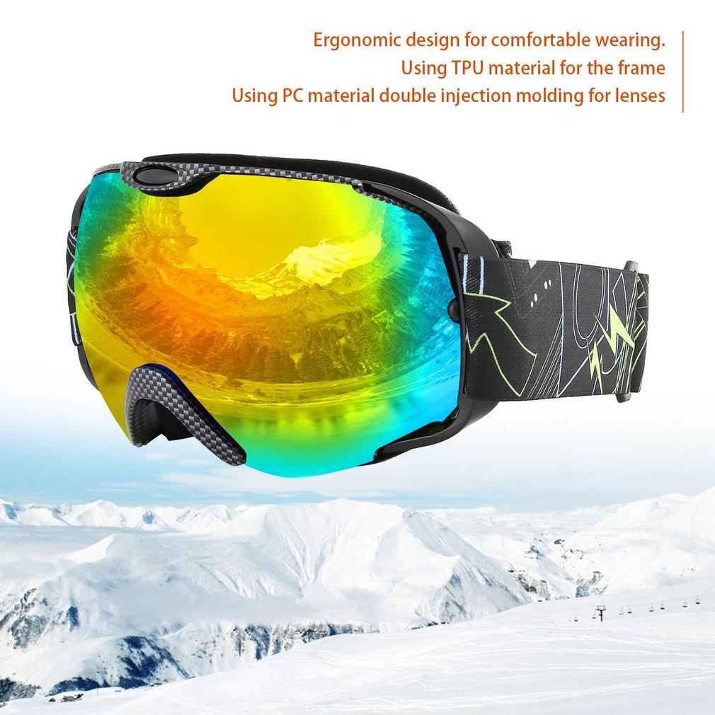 Skiing Eyewear Sports & Entertainment Adults Double Lens Ski Goggles Anti-fog Uv Protection For Outdoor Sports Skiing Goggles Snow Snowboard Protective Glasses Eyewea Be Novel In Design