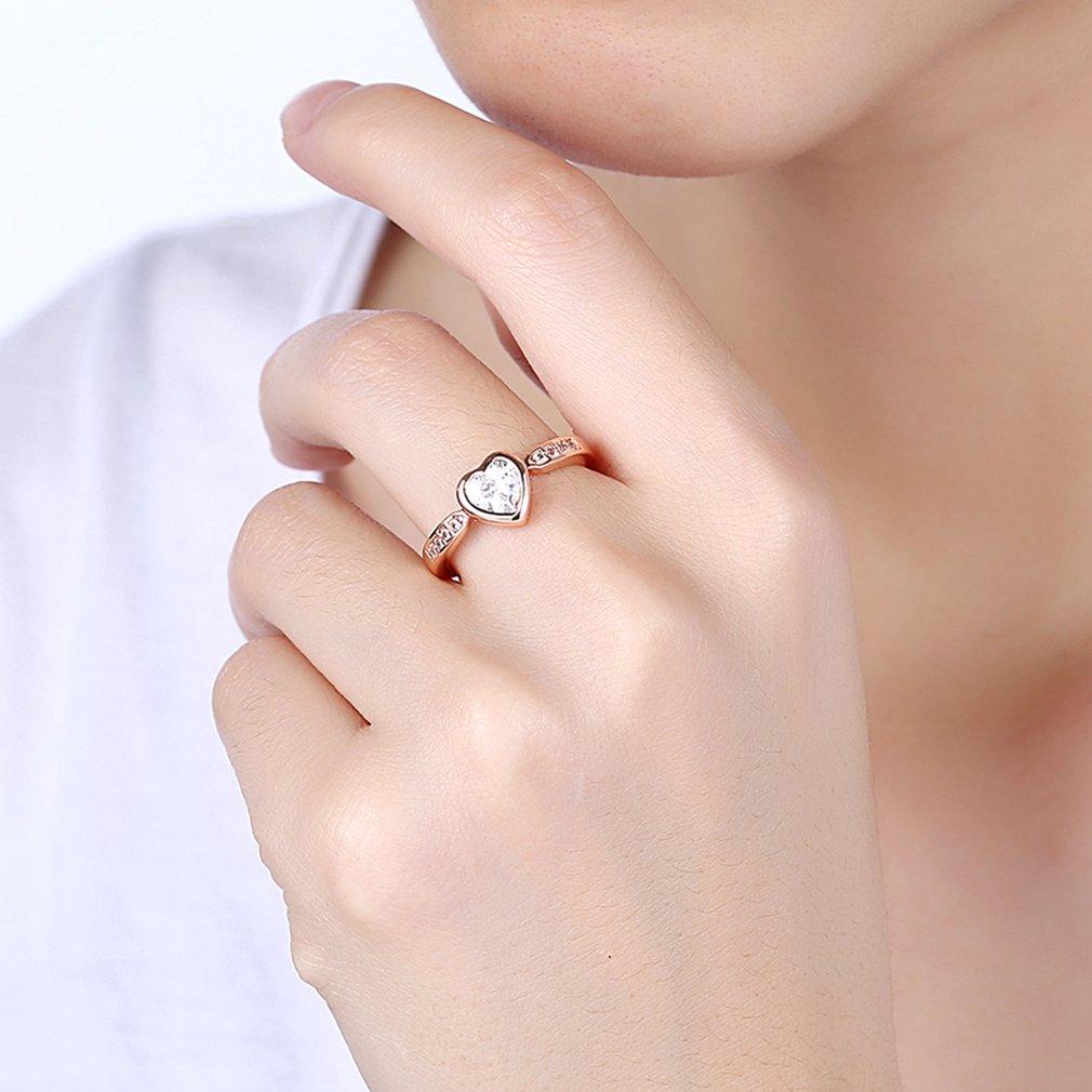 handcrafted wedding rings AKR194 Women Fashion Pretty Engagement ...