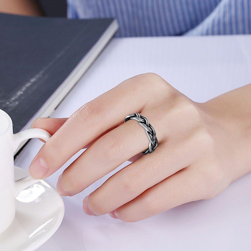 Women Knitting Ring Rotating High Quality Female Ring Geometry ...
