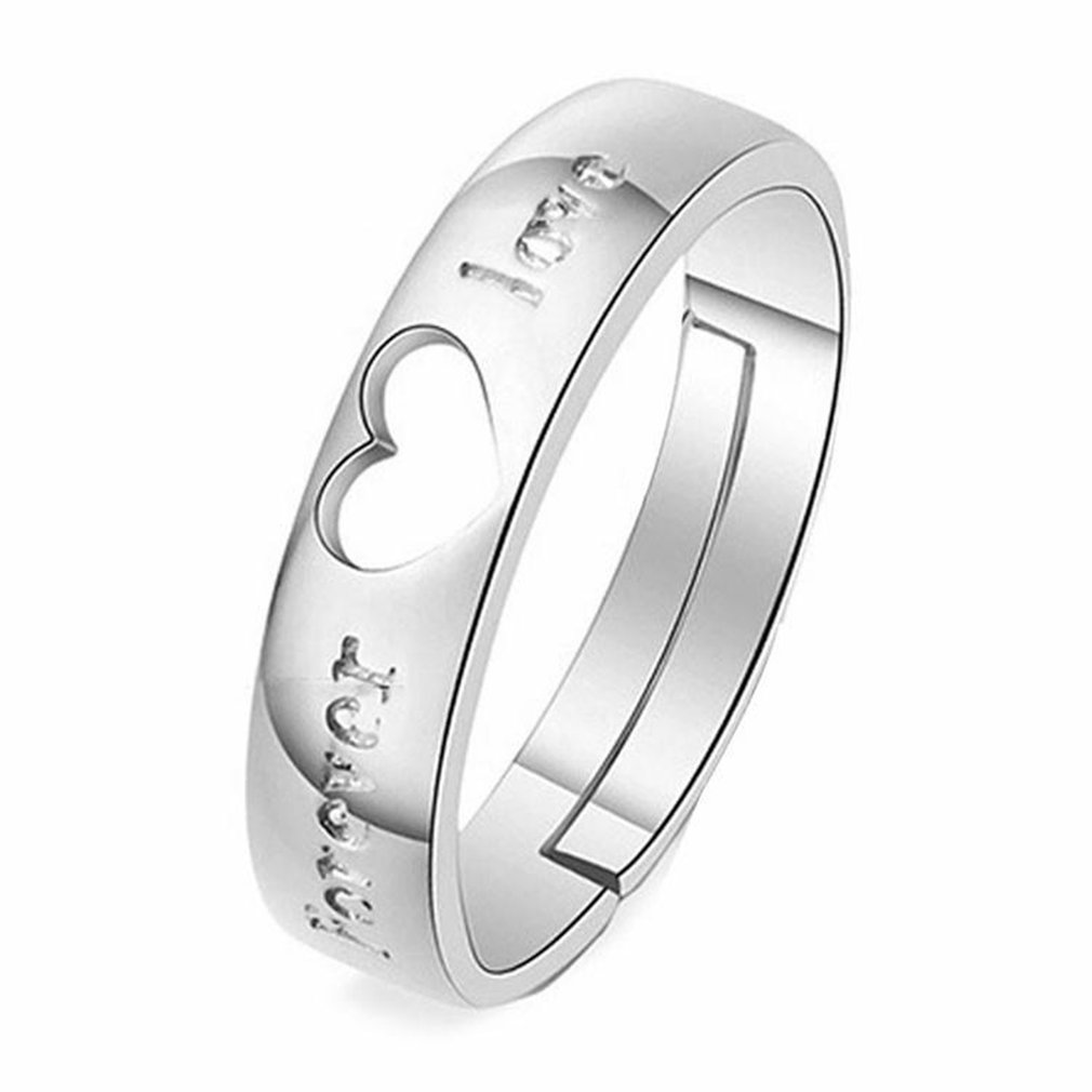 1PCS Ring Matching Rings King Stainless Steel Lovers Wedding Jewelry
