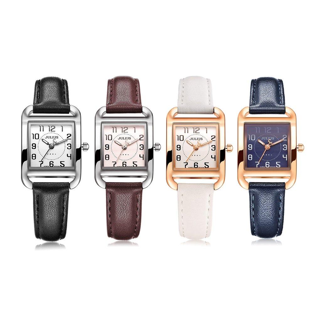 Women Wrist Watches Teenage Girls Luxury Brand Leather Strap ...
