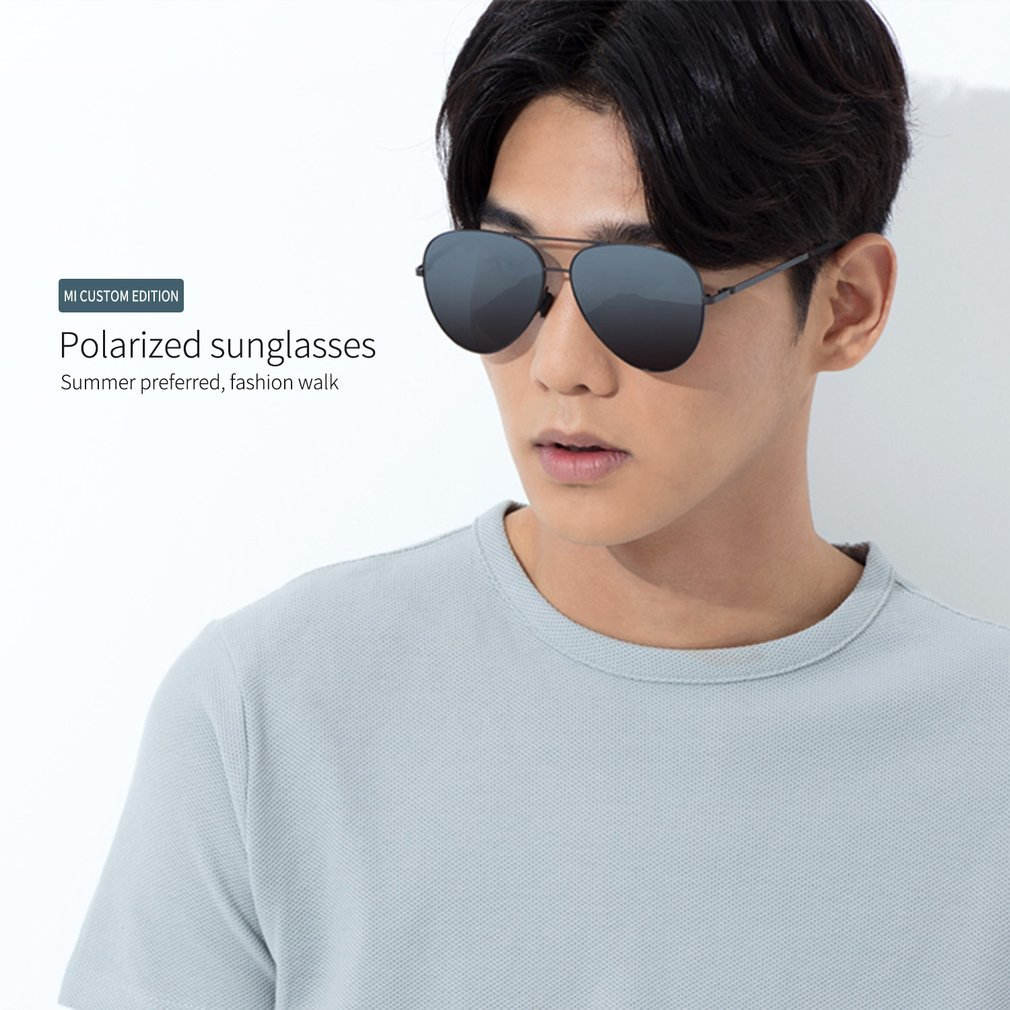 4139f90e0db Unisex Xiaomi Polarized Sunglasses UV400 Outdoor Travel Sports ...
