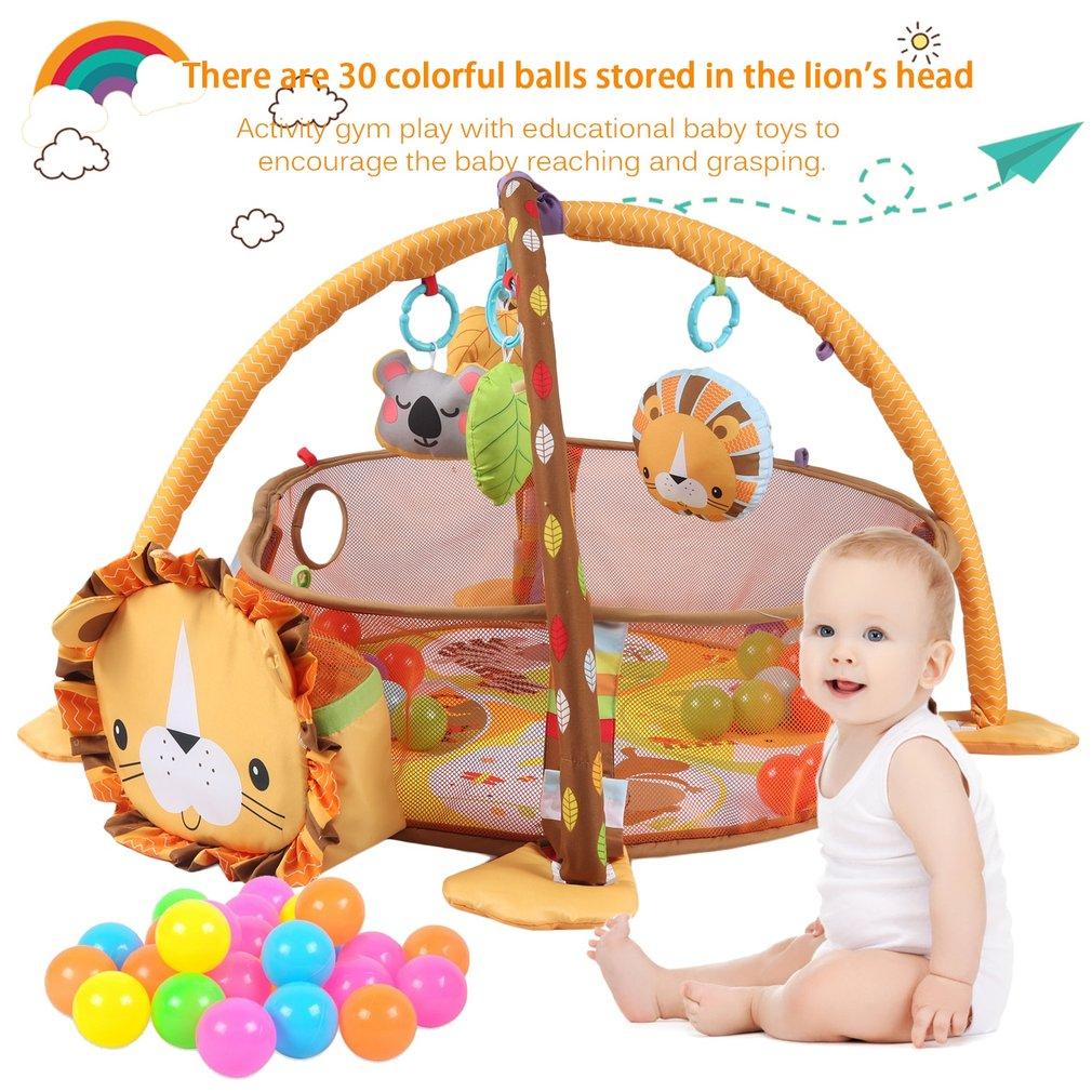 Gimnasio manta de juego y actividades alfombra para ni os beb 30 bolas xrc ebay - Alfombra actividades bebe ...