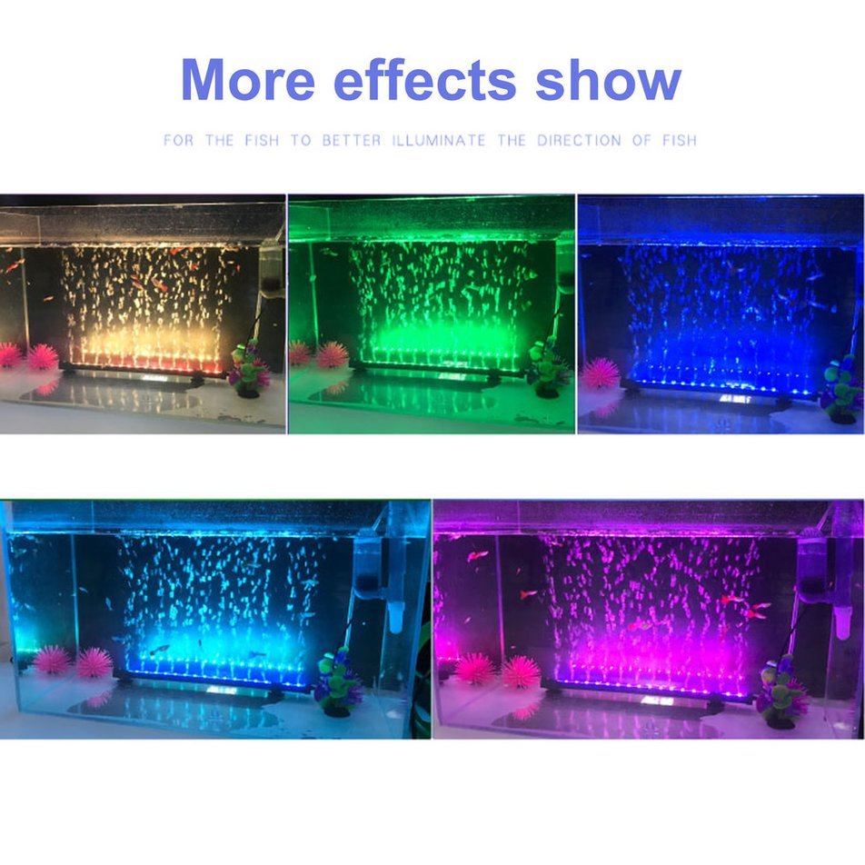 led aquarium lampe fische tank lichter rgb led smd zubeh r unterwasser ck ebay. Black Bedroom Furniture Sets. Home Design Ideas