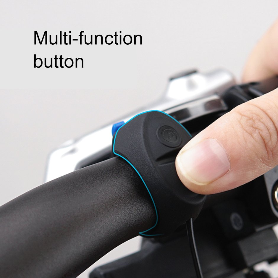 TWOOC Electronic Bicycle Bell Bike Horn Rechargeable Waterproof Low Noise