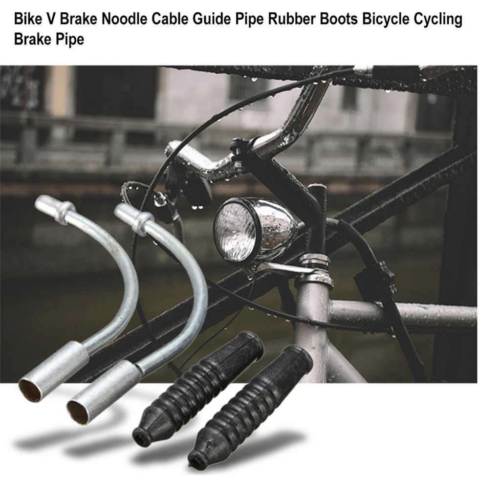 Bicycle V Brake Noodle Cable Guide And Plastic Pipe Hose bike Brake Tube TOBLUS