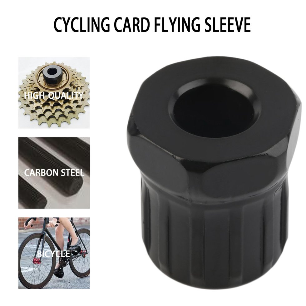 Freewheel Sleeve Cycling Travel Steel Bicycle Mountain Bike Removal Installation