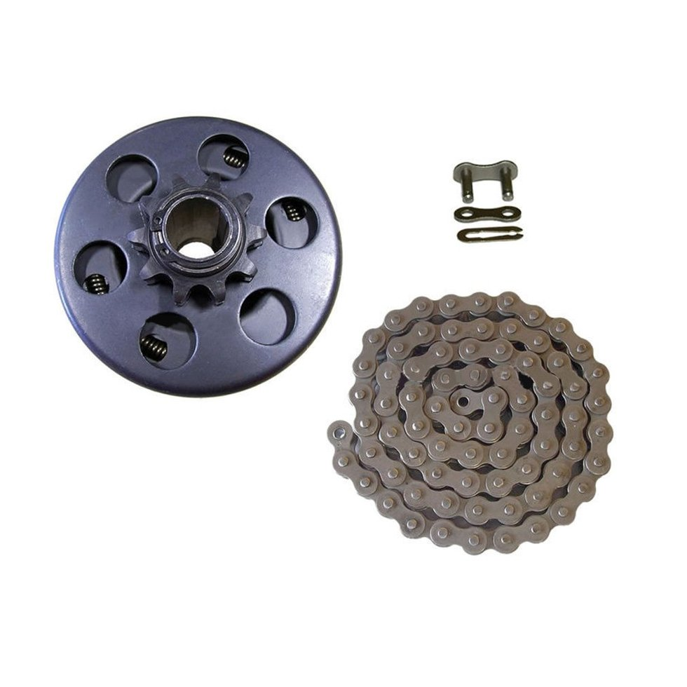 """3 THRU 8 hp 5//8/"""" Bore Max Torque Clutch /& 48/"""" of # 41 Chain and 1 Master Link"""