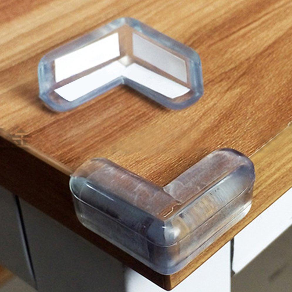 10 Stk Kinder Baby Silikon Eckenschutz Kantenschutz Tischkantenschutz 3-Models H