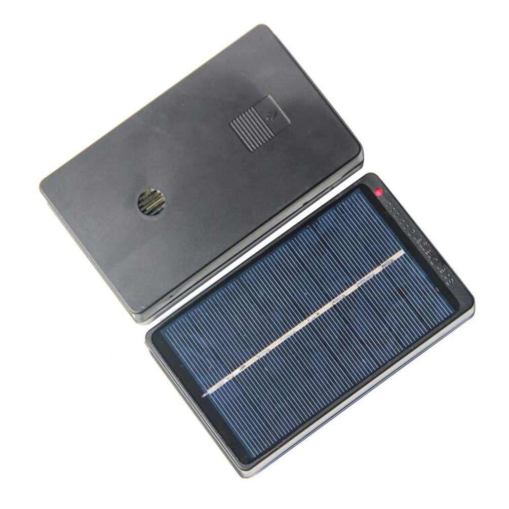 4v Solar Panel Board Charging Box Charger For 2 Aa Aaa