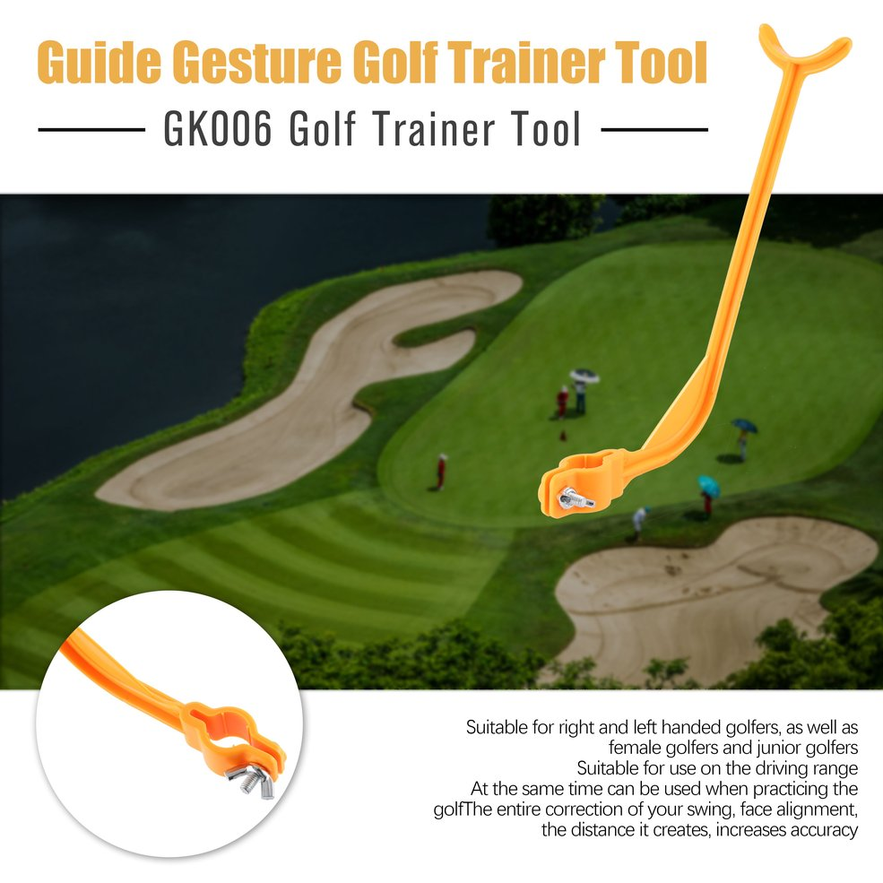 Details about GK006 Golf Practice Swing Trainer Tool Guide Gesture  Alignment Wrist Correct MG