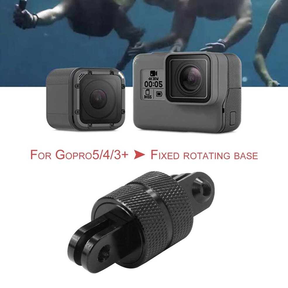 PA 360 Degree Rotating Swivel Arm Mount Adapter Pivot Arm For GoPro 5 //4// 3