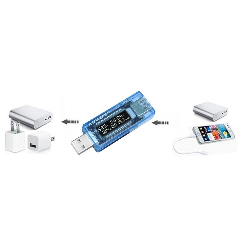 USB Volt Current Voltage Doctor Charger Capacity Power Bank Tester Meter MG