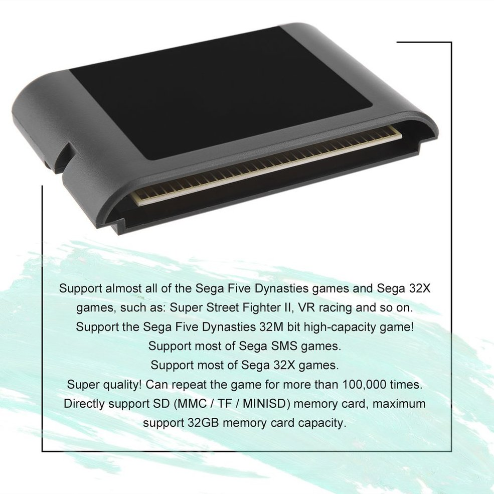 Details about Professional For SEGA MD Console Cartridge Vintage Console  Cartridge SG