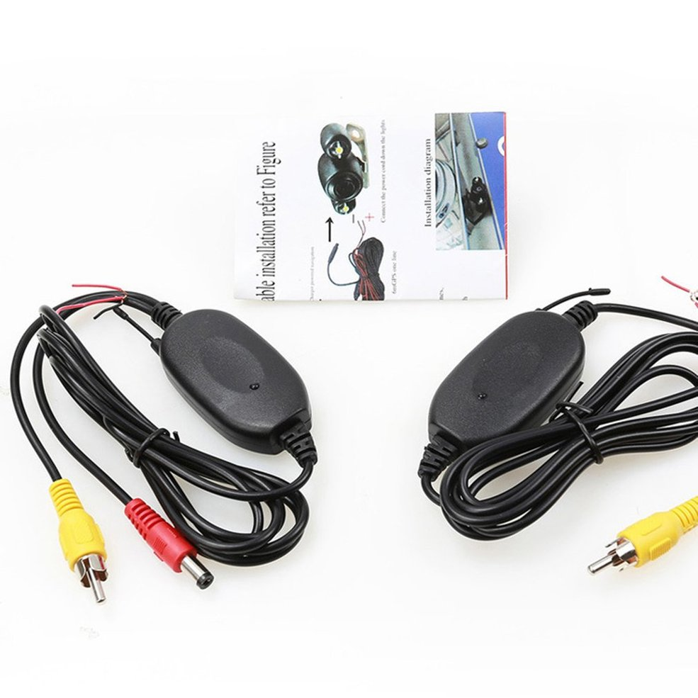 24g Wireless Video Receiver Transmitter For Car Rear View Camera Wiring Diagram Monitor