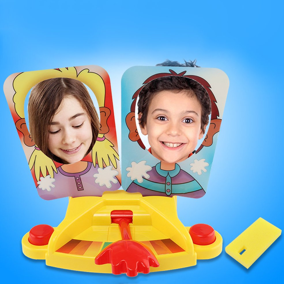 Pie face showdown game double cream hit face machine funny gadgets fun prank pie face showdown game double cream hit face machine funny gadgets prank jokes universal toys for family party solutioingenieria Gallery