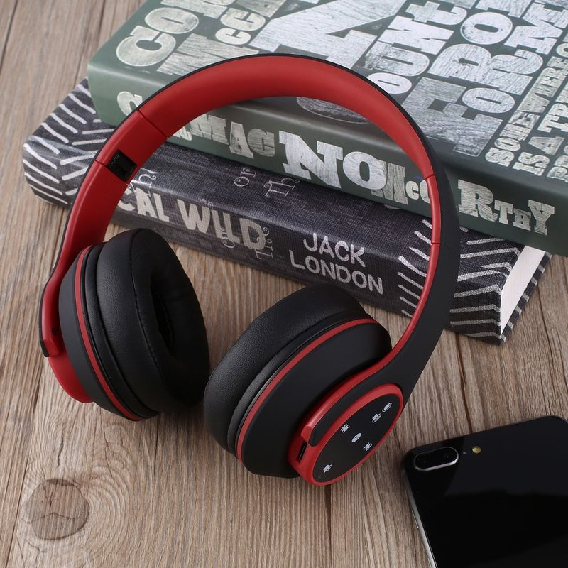 Foldable-Touch-Wireless-Headset-with-Mic-Support-FM-amp-Card-Reader-Function-IB