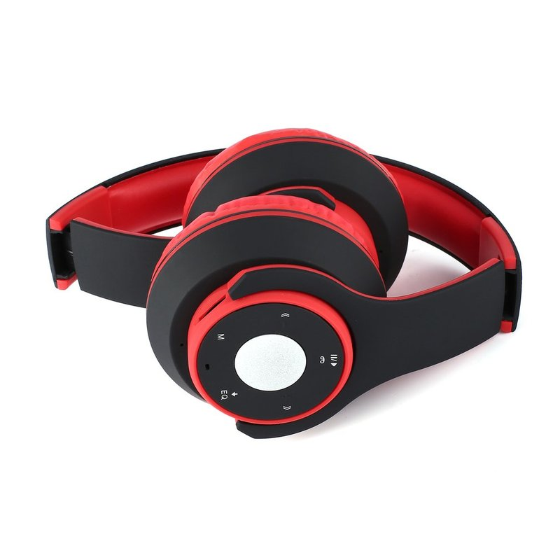 Foldable-Touch-Wireless-Headset-with-Mic-Support-FM-amp-Card-Reader-Function-IB thumbnail 34