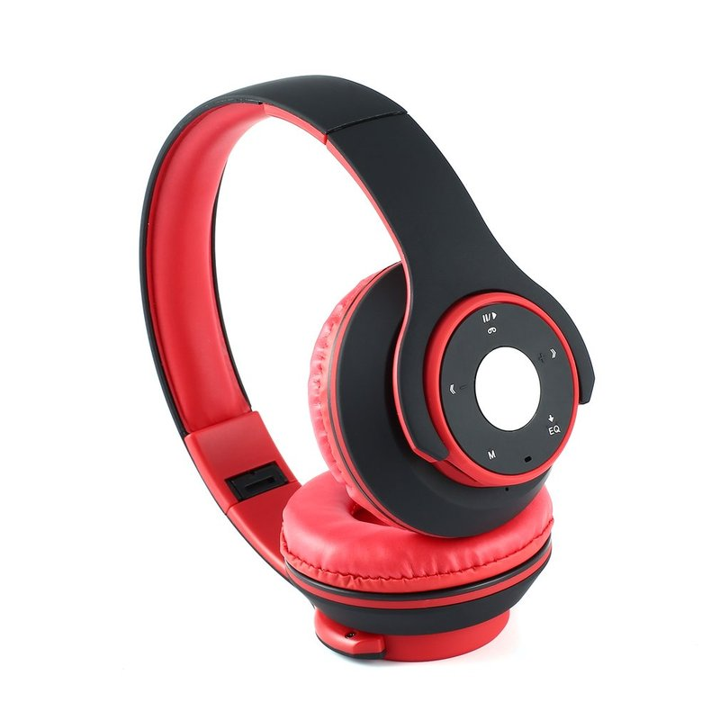 Foldable-Touch-Wireless-Headset-with-Mic-Support-FM-amp-Card-Reader-Function-IB thumbnail 35