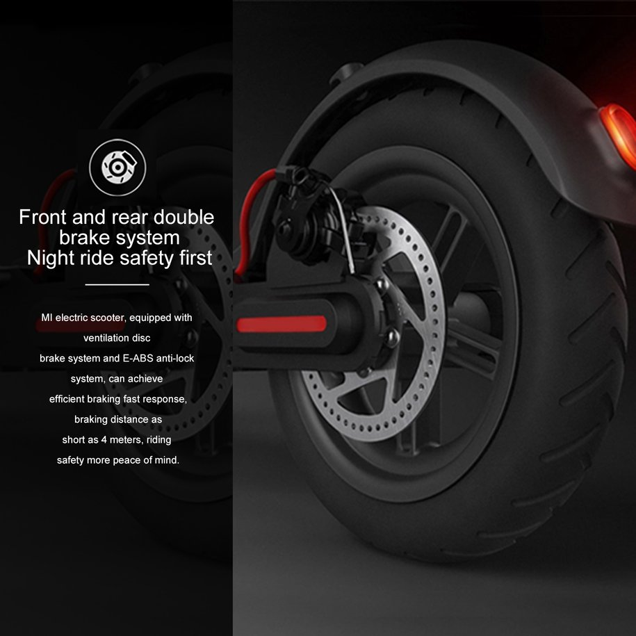 Brand new original xiaomi mijia m365 smart folding electric scooter possesses stronger impact resistance and load capability with anti corrosion coating ip54 waterproof to have good performance in wet ground sand fandeluxe Image collections