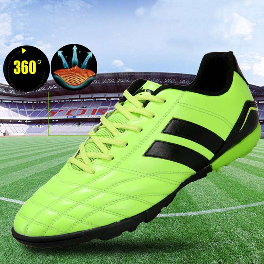 534c546d4 Nail Training Football Shoes For Young Men Children Antiskid Sports Shoes  Soccer Shoes Outdoor Lawn Hard Court Shoes