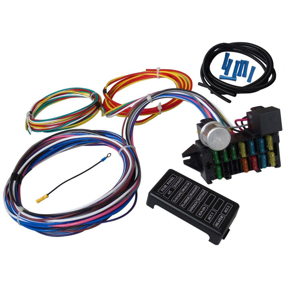 QP1823700-C-4-19 Rat Rod Wire Harness on