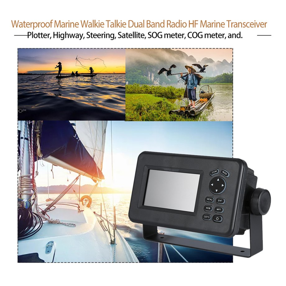 Details about 4 3 Inch LCD Marine GPS Navigator Combo With AIS Transponder  HP528 Receiver GE