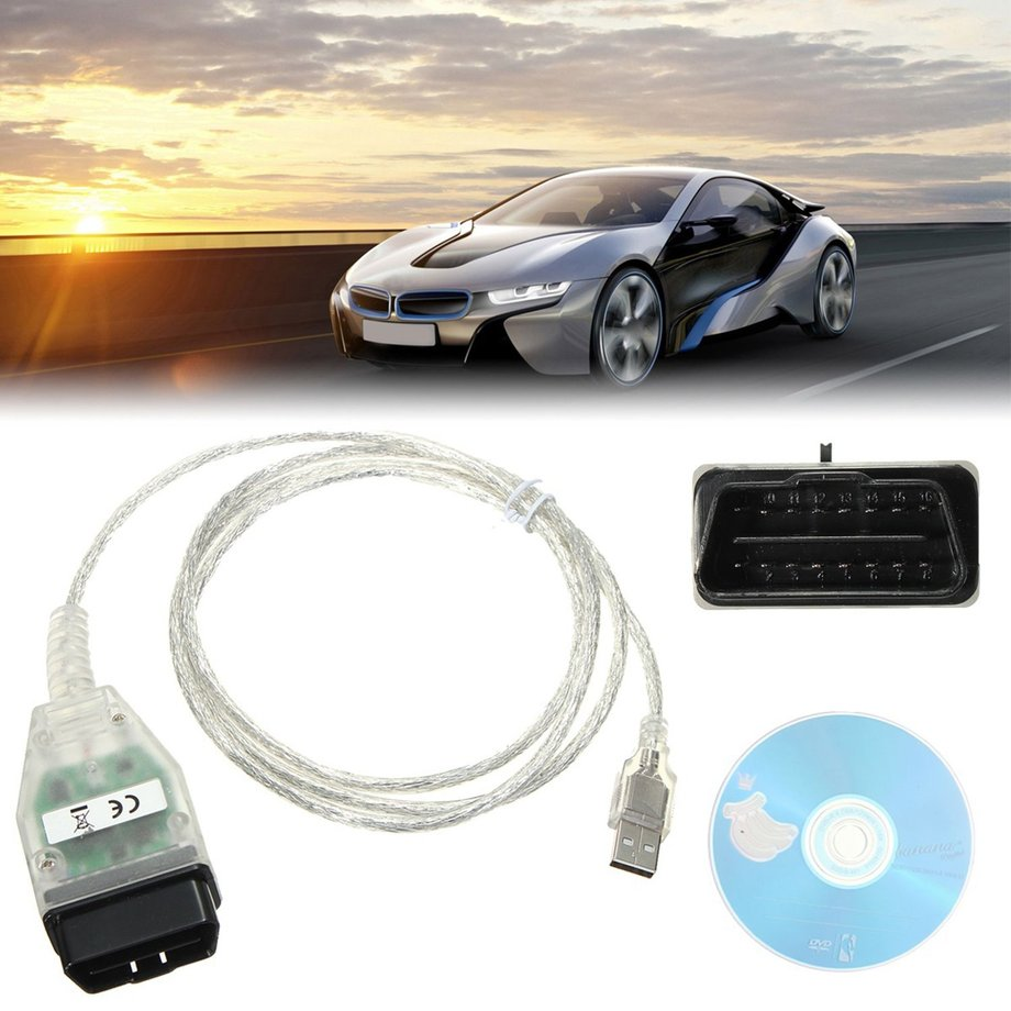 For BMW INPA K+DCAN with USB Interface Switch Diagnostic OBD2 Cable FT232RQ G2