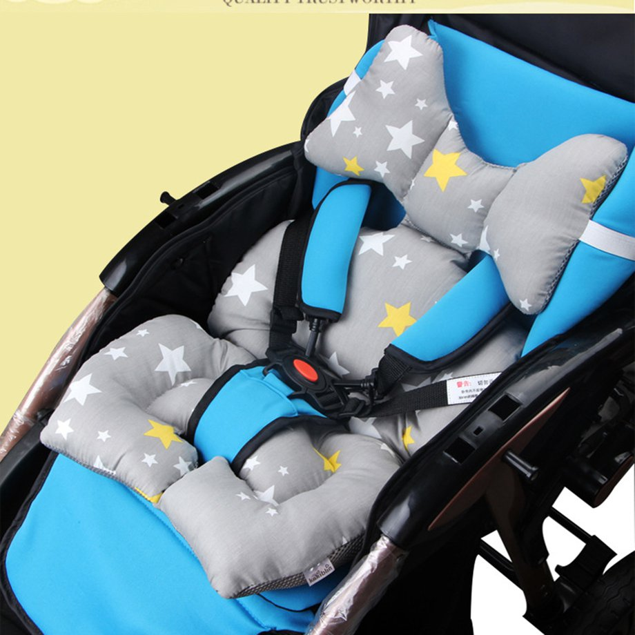 Baby Car Seat Cushion Padded Child Body Support