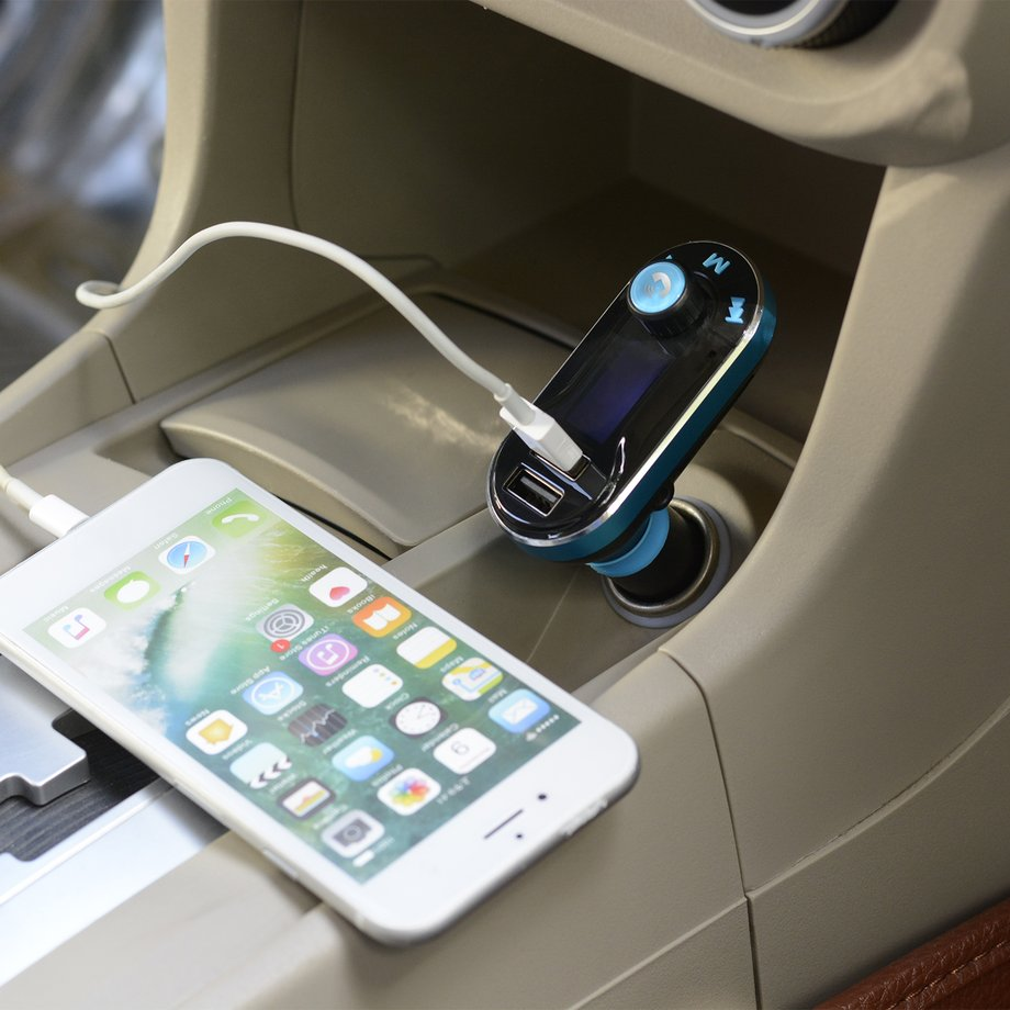 Bluetooth Car FM Transmitter Wireless Radio Adapter USB Charger Mp3 Player Lot~