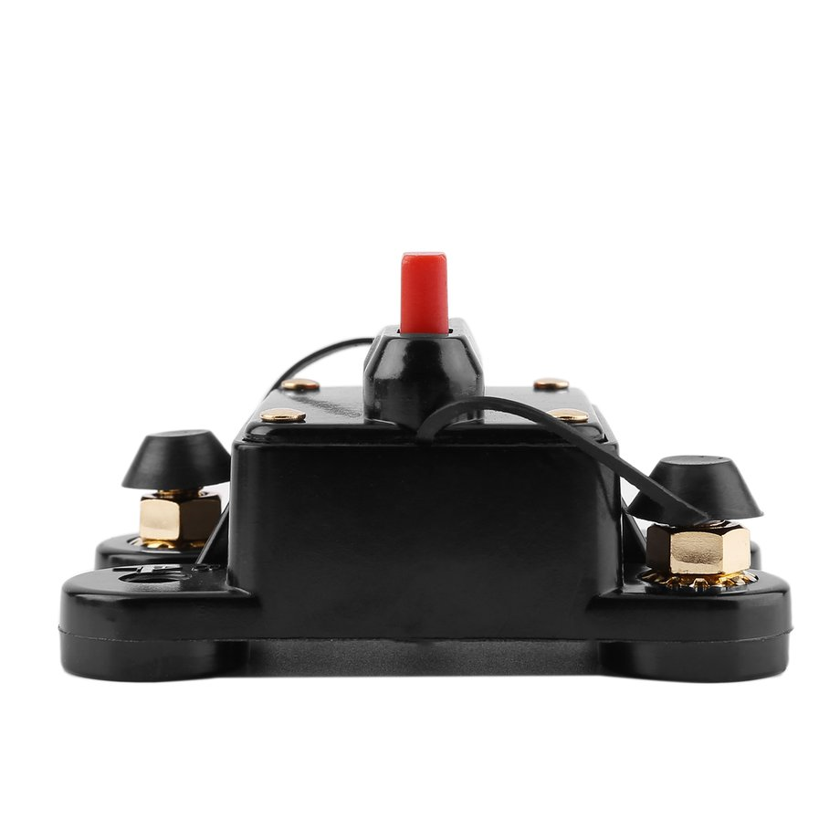 200a Car Audio Fuse Holder With Switch Power Supply Protector Circuit Breaker My