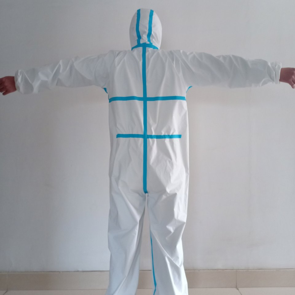 Professional Medical Suit Protection Isolator Cloth Disposable Isolation