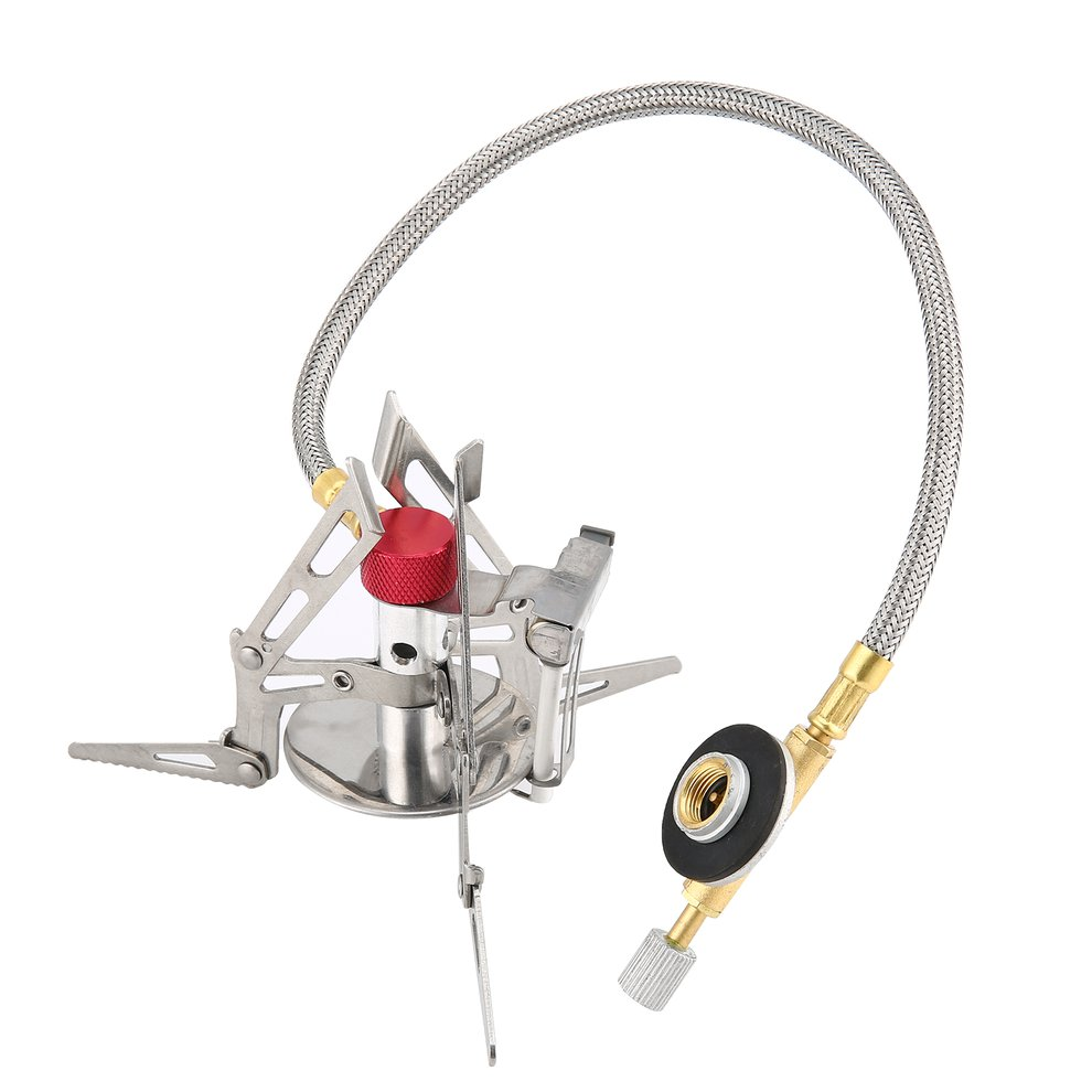 Dpower Mini Portable Folding Camping Gas-powered Stove with Piezo Ignition ti Camping & Outdoor