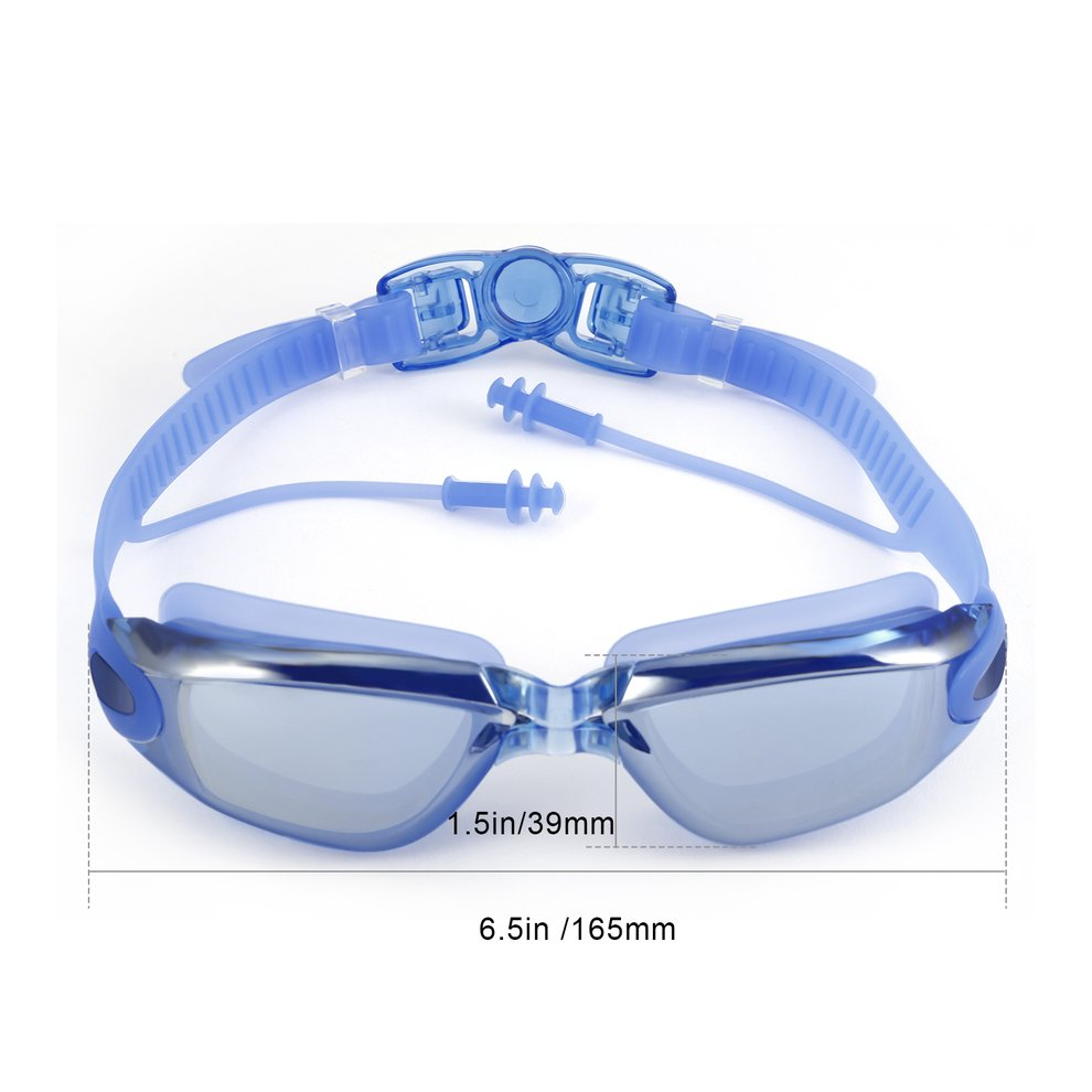 6d6fdb265fc Clear Vision Waterproof No Leaking Anti-Fog Adjustable Headband HD ...