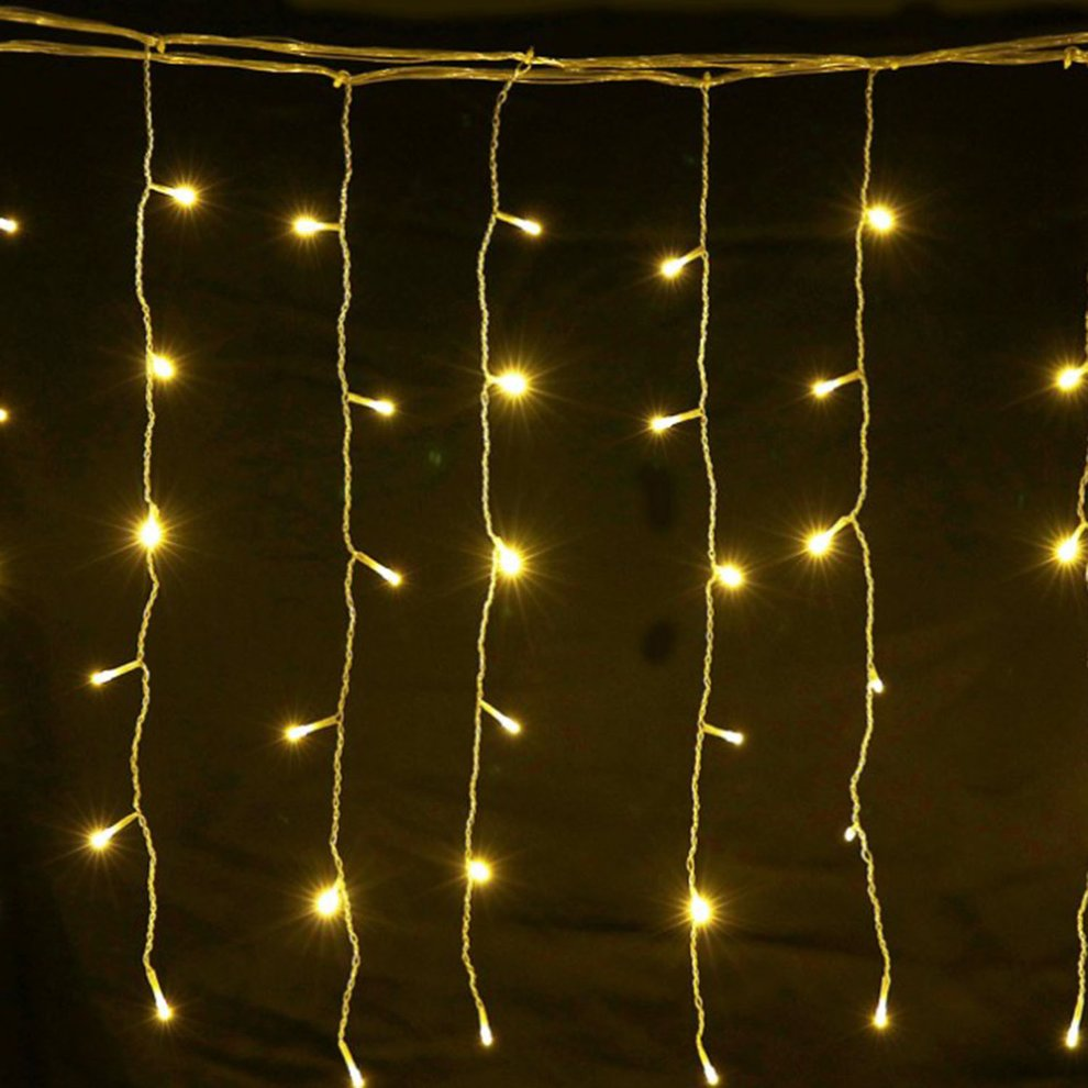 Led Ball String Light Christmas Background Wall Decorative Curtain Parallel Circuit In Lighting Hl