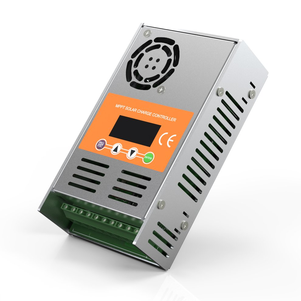 40a Indoor Mppt Solar Controller Pv Charger Auto Recognition With Charge Specifics Item