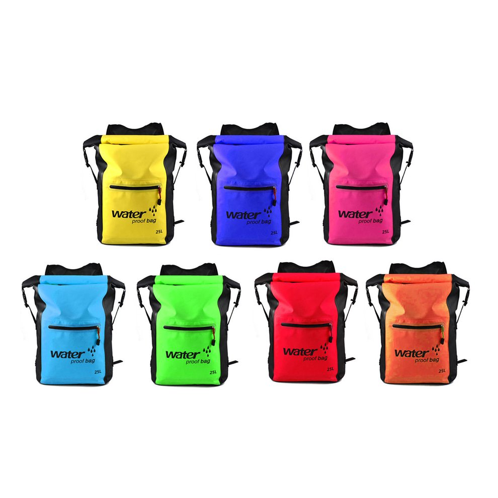 Sports & Entertainment Fashionable Design 25l Men Women Waterproof Outdoor Travel Sports Swimming Backpack Ultra Lightweight Pvc Backpack