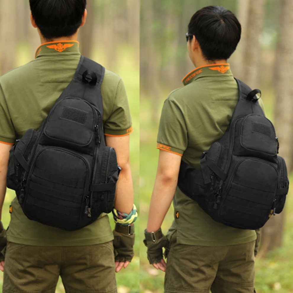 0ba5e2d105 Protector Plus Multifunction Tactical Chest Bag Waterproof Nylon Travel Bag  YA