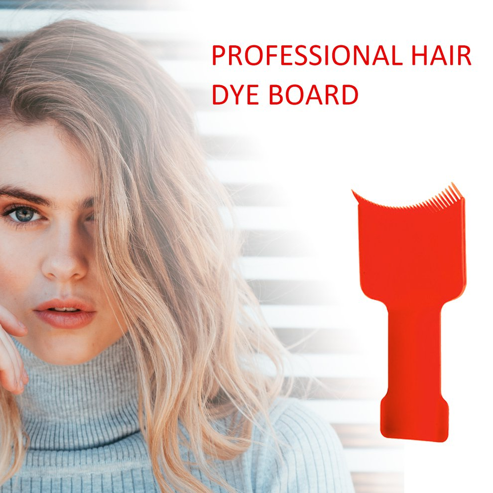 Salon Hairdressing Coloring Comb Tint Board Hair Dyeing Coating