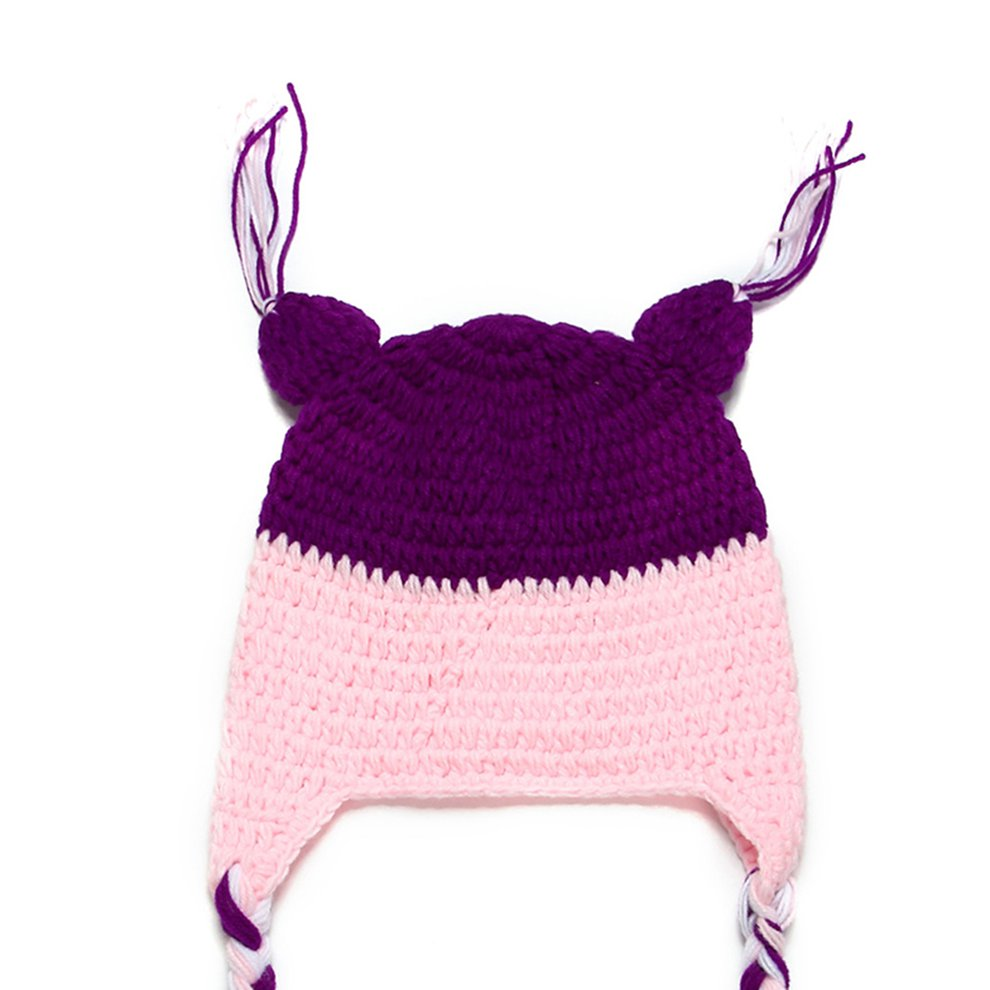 Newborn Baby Boy Girl Crochet Sleepy Owl Hat Beanie Photography Props QK 51e3d8fbc799