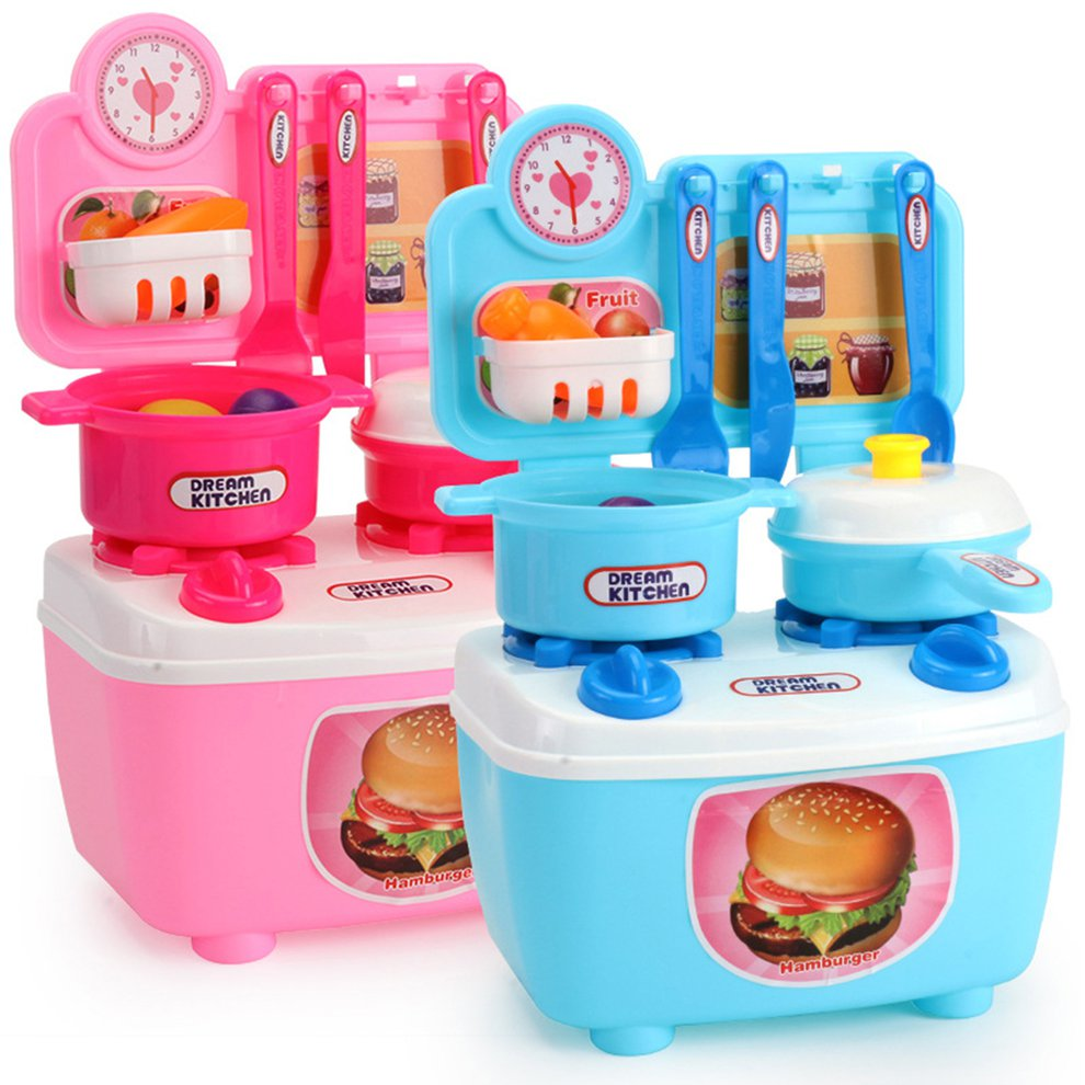 Baby House Kids Play House Toys Tableware Sets Baby Toys Kitchen ...