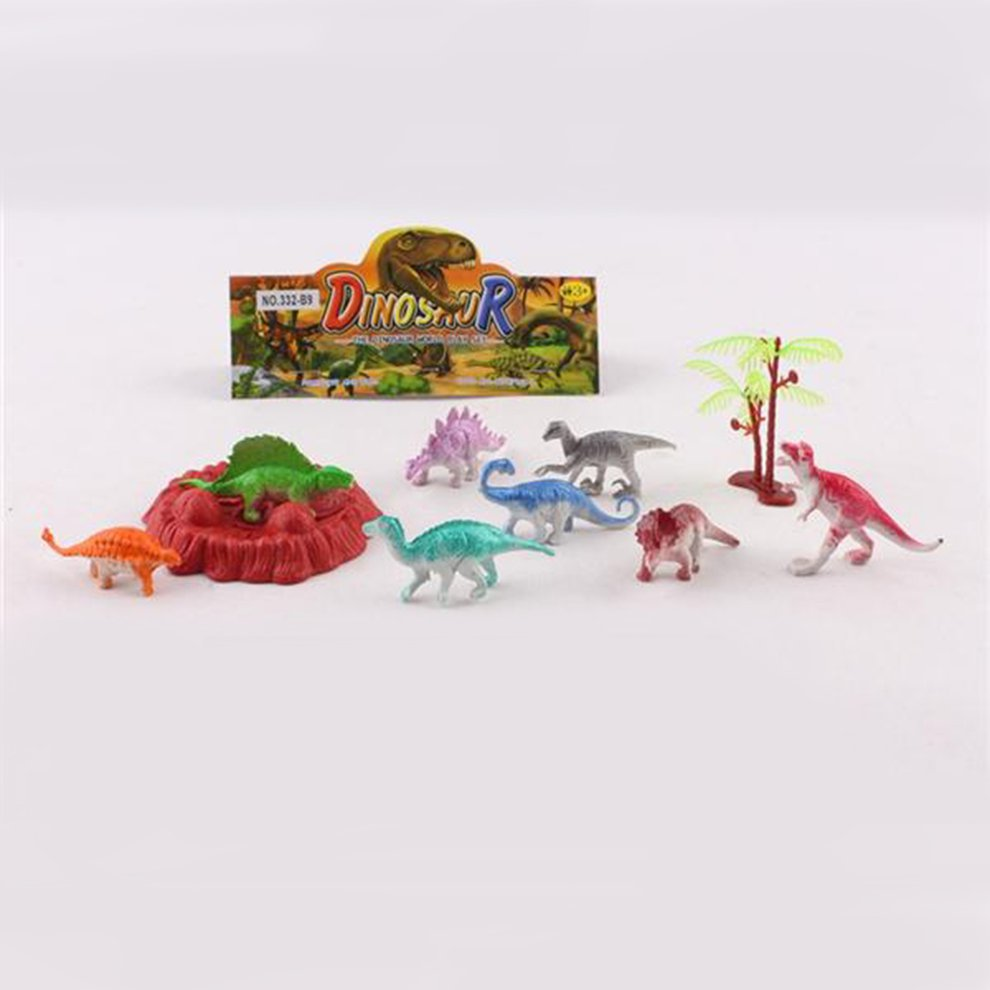 8bed6e7feb065c Plastic Dinosaur Animal Toys Small Size Simulation Classic Toys ...