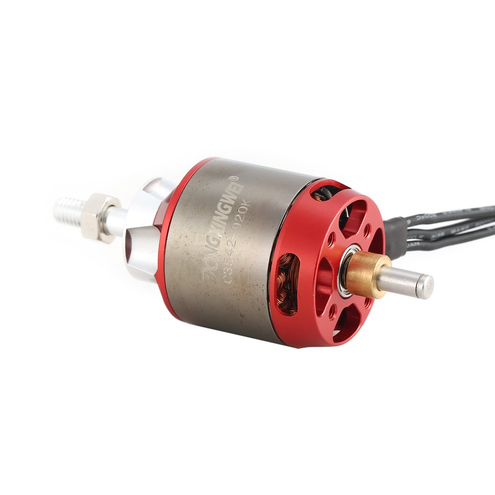 Dxw C3542 920kv 2 4s Outrunner Brushless Motor For Rc Fixed Wing On Wiring Diagram Airplane Sy