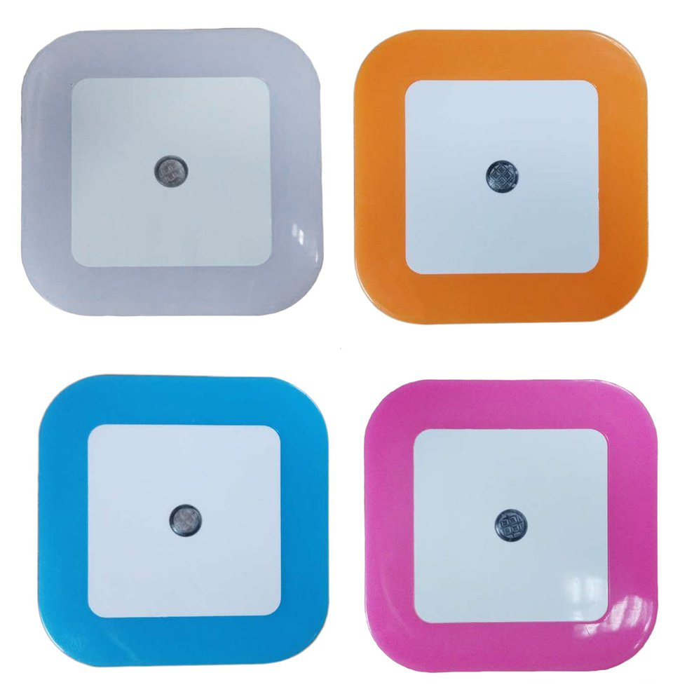 Automatic Led Plug In Night Light Low Energy Safety 4 Colour Rt