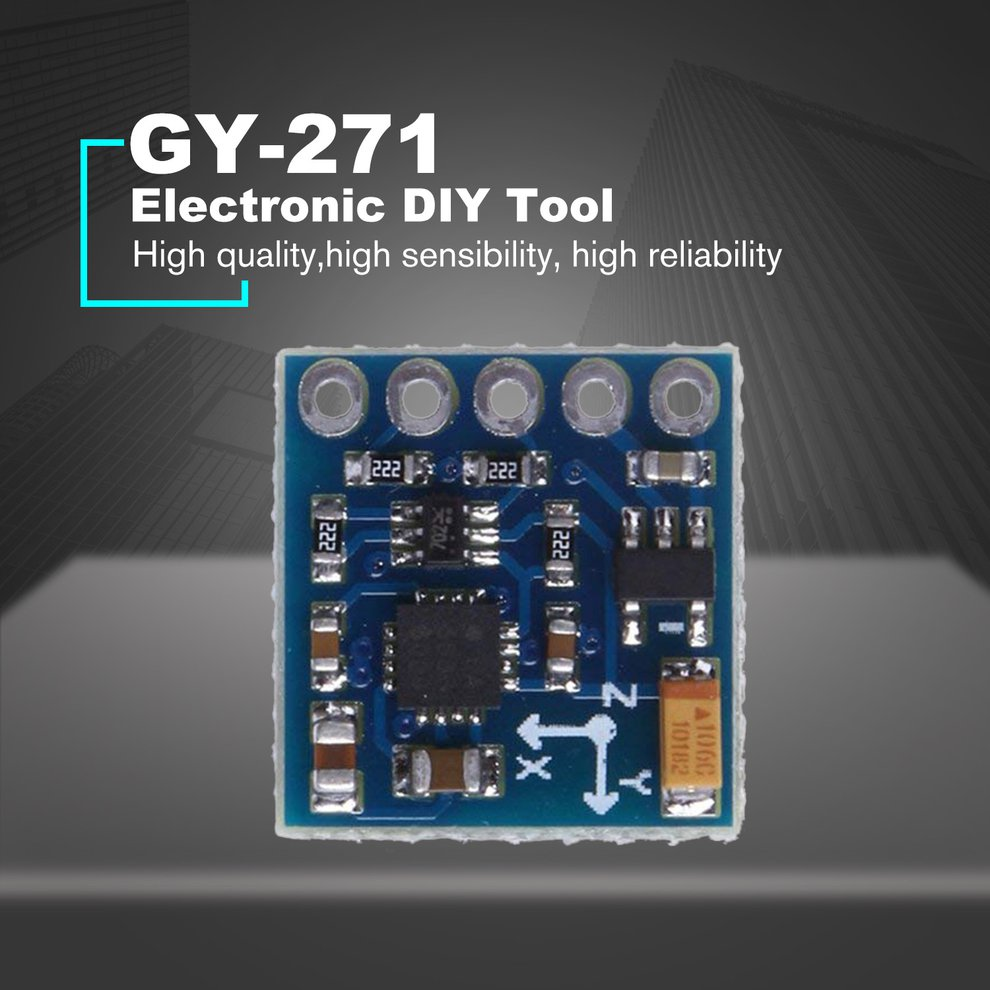 Details about GY-271 HMC5883L Three-axis Digital Compass Magnetic Field  Module Magnetometer JI