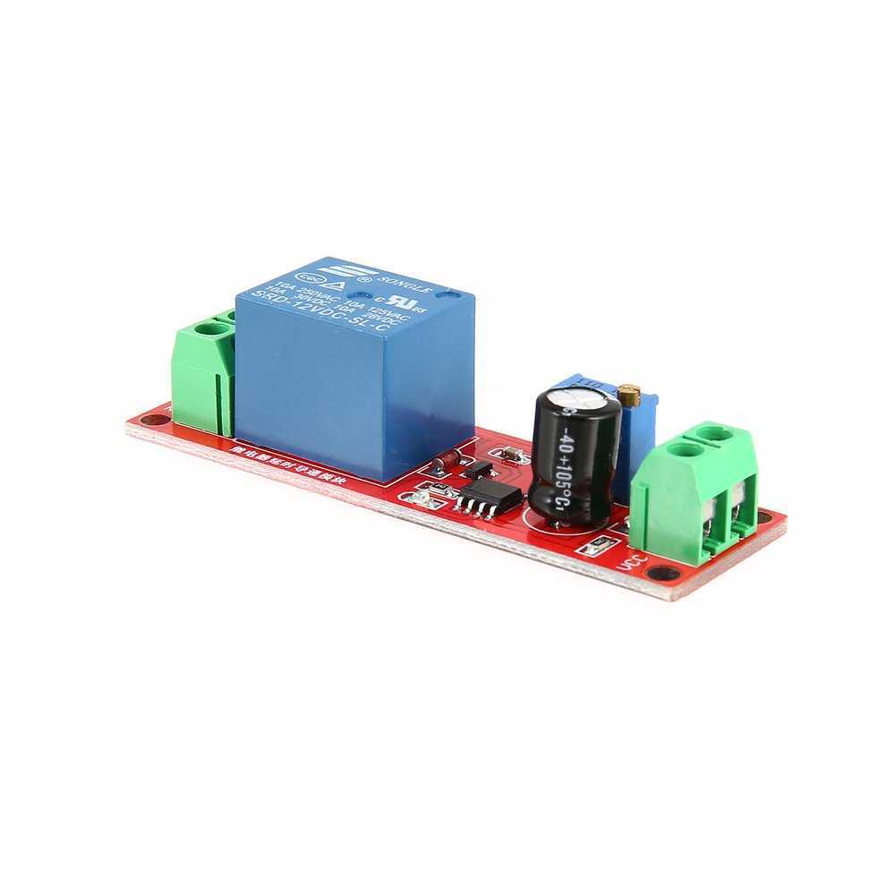 Ne555 Monostable Delay Relay Circuit Module Trigger Switch Timer Electronic Hobby Circuits Ne 555 Ic Internal Diagram Adjustable A5