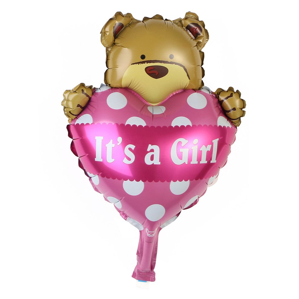 BZ623 5Pcs Balloons With Different Shape For Boys Girls Birthday