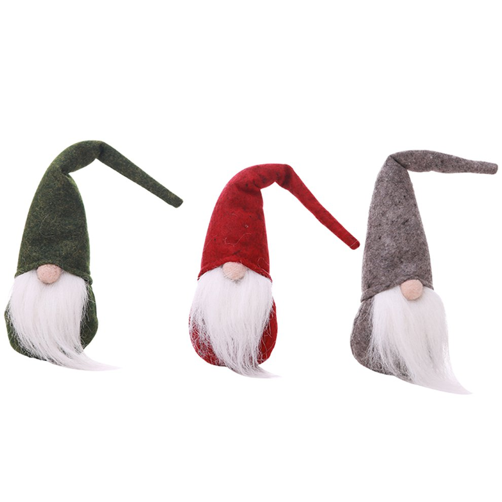 Christmas Decoration Old Man Doll Faceless Doll Christmas Plush Toy ...